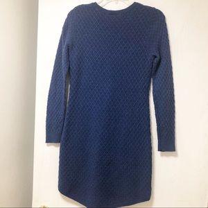 Loft Blue Sweater Dress Size XS